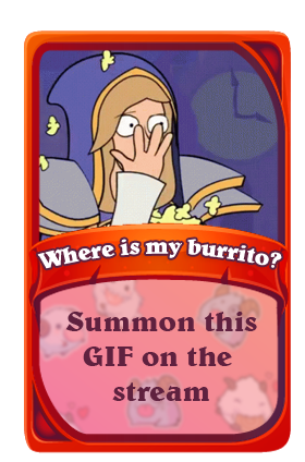Where is my burrito?